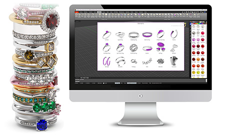 RhinoGold: 3D Jewelry Design Software - CAD | TDM